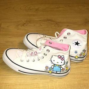Converse Hello Kitty collab.